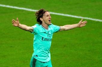 Modric quiere seguir jugando en el Real Madrid. EFE