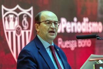 Pepe Castro seguirá en el Sevilla tras la Junta de Accionistas. EFE