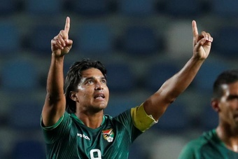 Marcelo Martins Moreno veut emmener la Bolivie à la Coupe du Monde. EFE