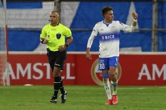 Diego Valencia se unirá a la concentración de Chile el 29 de junio. EFE