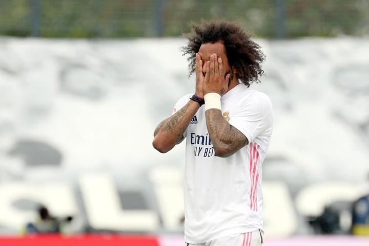 Ancelotti va devoir choisir entre Marcelo et Miguel Gutiérrez. EFE