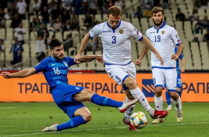 Haroyan es el primer jugador de Armenia que mete gol en la Liga Española. EFE/Archivo