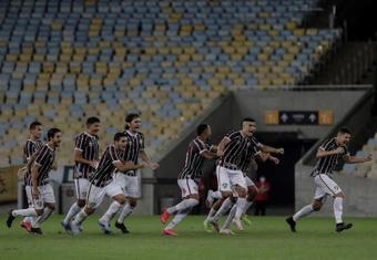 Shakhtar Donetsk sinaliza 7 milhões de euros por Matheus Martins. EFE/Antonio Lacerda