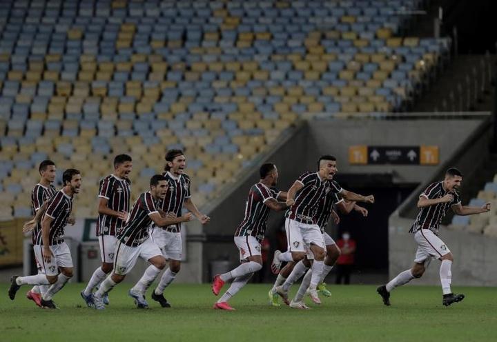 Fluminense y Sport Recife salen victoriosos. EFE