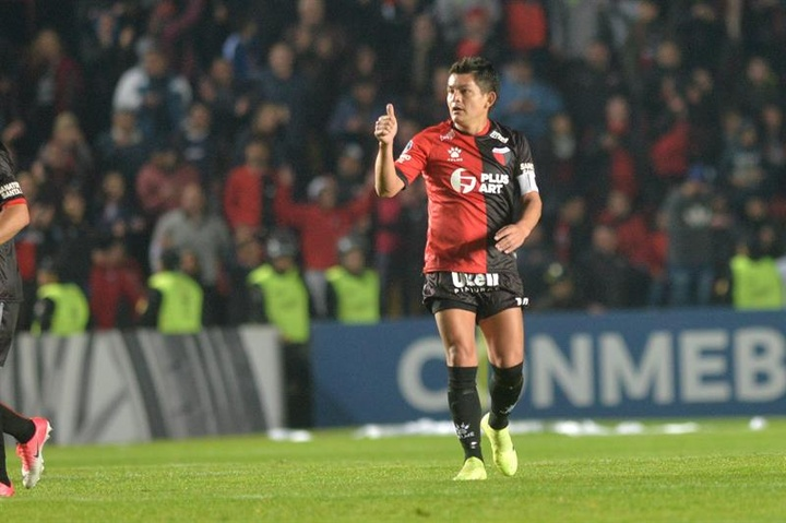 El 'Pulga' Rodríguez habló tras proclamarse campeón de la Copa de la Liga. EFE
