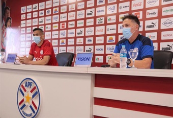 Balbuena habló tras la derrota ante Ecuador. EFE