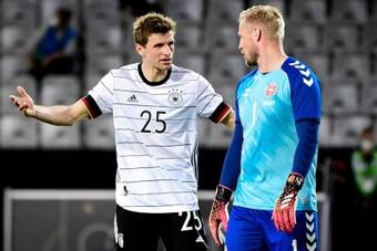 Germany were held by Denmark in Innsbruck. EFE