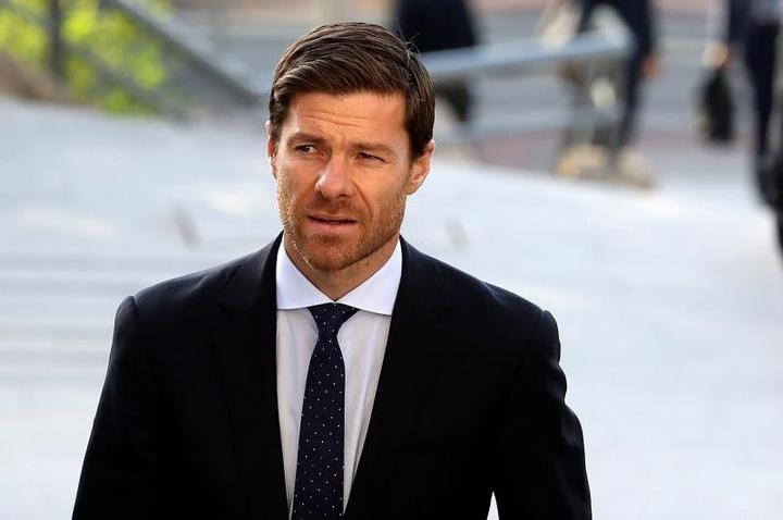 Xabi Alonso prépare un nouveau défi en tant qu'entraîneur. EFE