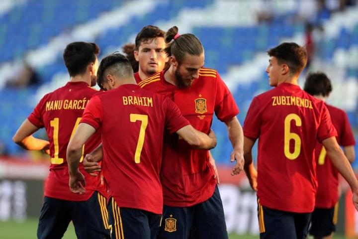 L'Espagne U21 régale contre la Lituanie. EFE