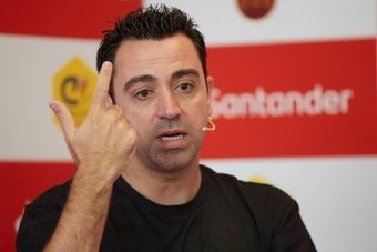 Rivaldo apostó por Xavi para el banquillo del Barcelona. EFE