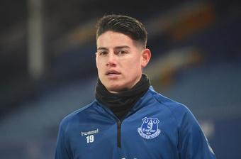 Accordo Basaksehir-Everton per James. EFE