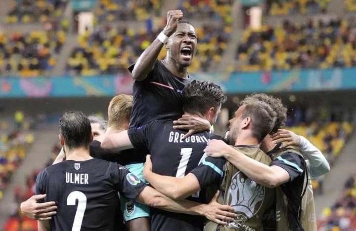 A alegria da primeira vez. AFP
