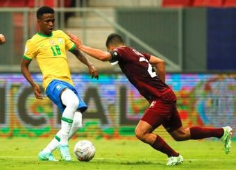 Vinicius ha perdido protagonismo en Brasil. EFE