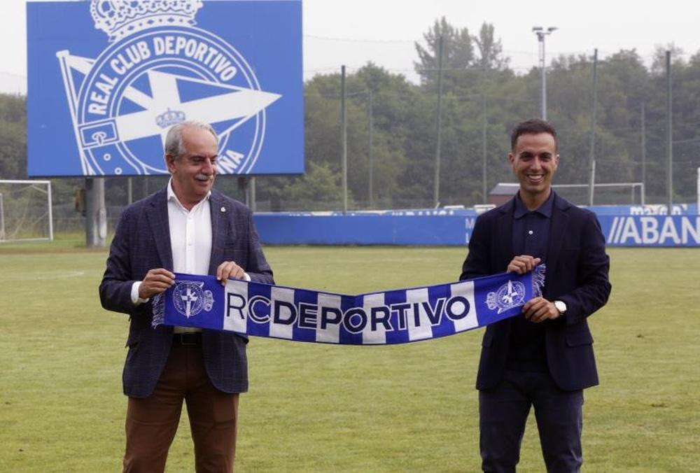 Borja Jiménez habló sobre Luis Fernández. EFE