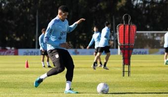 El Barcelona confirmó el regreso de Ronald Araujo. EFE