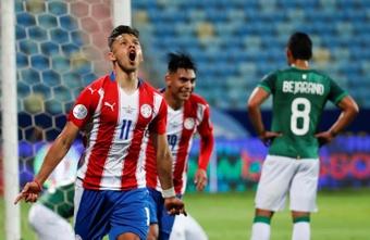 Paraguay ganó a Bolivia 3-1. EFE