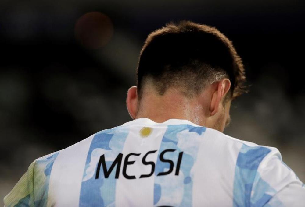 Messi donne son accord au Barça pour sa prolongation. AFP
