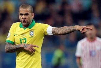 Fluminense, muy cerca de hacerse con Dani Alves. EFE
