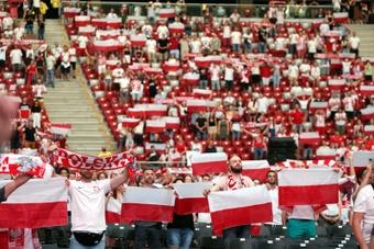 Polonia se impuso 1-7 contra San Marino. EFE/Archivo