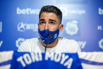 Toni Moya debutó con el Alavés. EFE