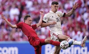 Meunier não jogará pela Bélgica nessa Data FIFA. EFE/EPA/Liselotte Sabroe