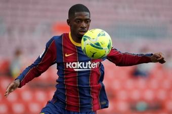 El jugador del FC Barcelona Ousmane Dembelé. EFE