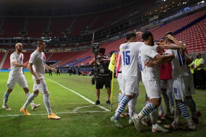Paraguay venció a Chile. EFE