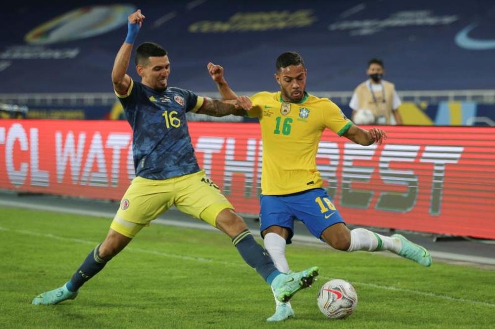 Atualidade do futebol brasileiro a 10 de outubro de 2021.EFE