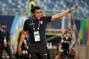 Farías aseguró que Bolivia dejó buenas sensaciones a pesar de no sumar puntos. EFE