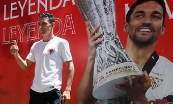 Jesús Navas se lamentó de no haber estado en la Eurocopa. EFE