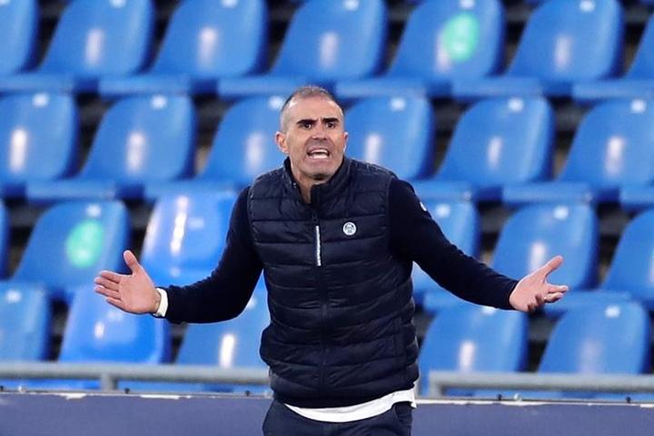 El amistoso del Eibar de Garitano, suspendido. EFE
