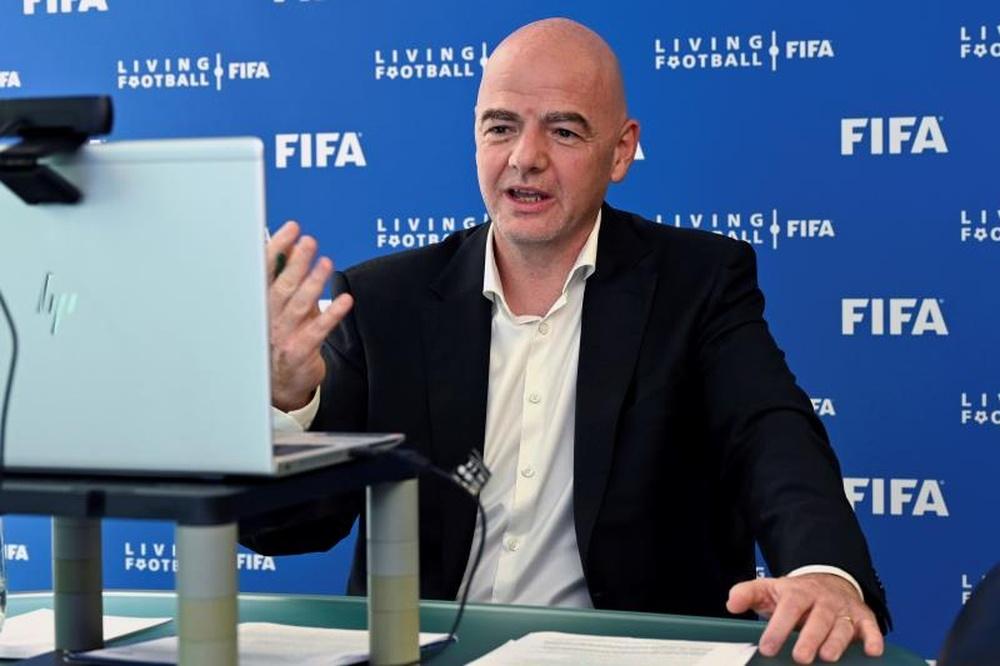 La Asociación de Fútbol Palestina protesta anulando una reunión con Infantino. EFE