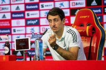 Mikel Oyarzabal est convaincu que la Roja peut remporter la Ligue des Nations. EFE