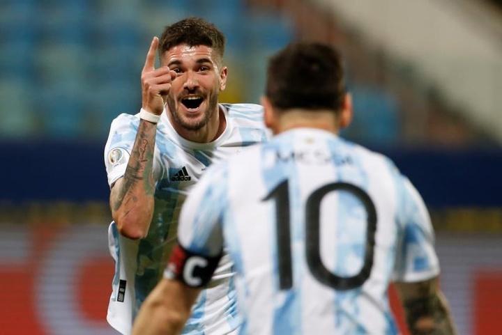 La plaisanterie de Fluminense sur Messi et Nene sur les réseaux. EFE/Alberto Valdés