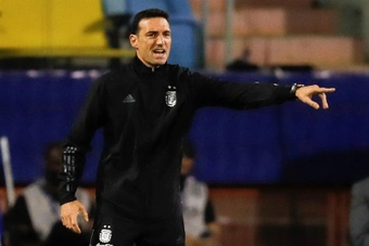 Scaloni analizó el empate de Argentina. EFE