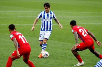 La Real Sociedad echará en falta a David Silva. EFE
