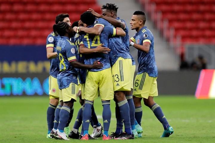 Colombia logró el tercer puesto de la Copa América. EFE