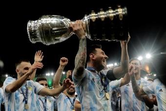 Italia y Argentina jugarán en 2022. EFE
