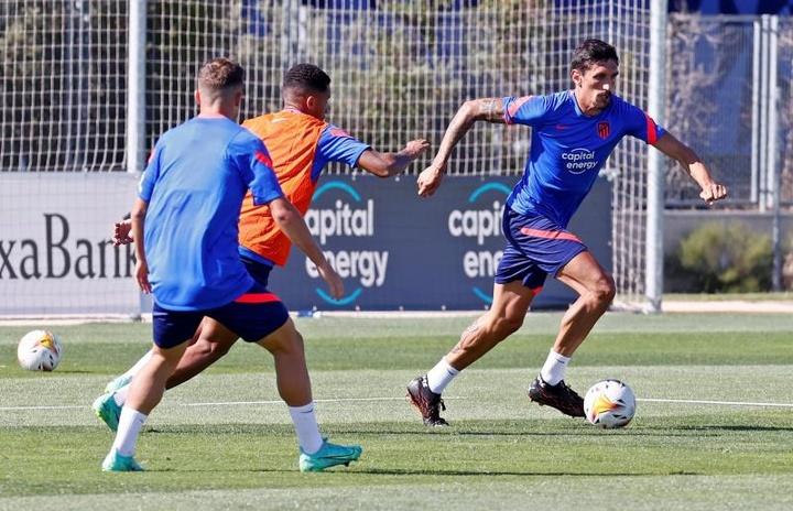 Savic promet de continuer à donner le meilleur de lui-même pour l'Atlético. EFE