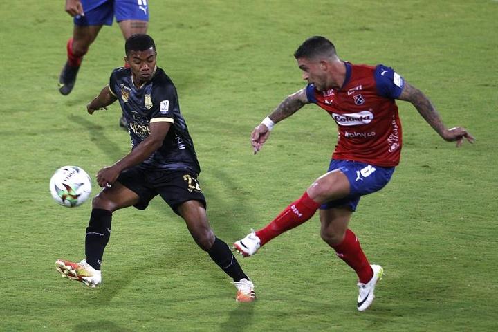 Independiente Medellín no pasó del empate a cero. EFE