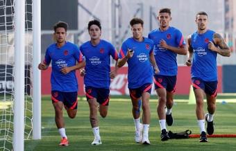 Os jogadores da base com futuro incerto no Atlético de Madrid. EFE