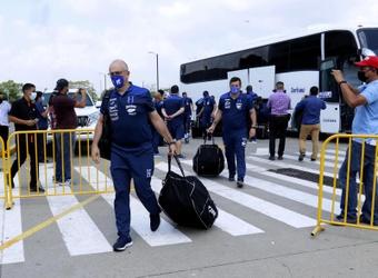 Honduras viaja a Canadá para el primer partido de eliminatoria de Catar 2022. EFE