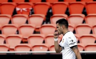 El delantero uruguayo del Valencia CF Maxi Gómez. EFE