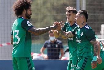 Osasuna se impuso al Burgos. EFE