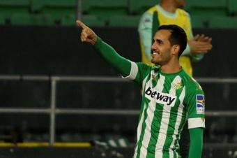 Juanmi analizó el triunfo del Betis. EFE/Archivo