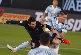 El Celta descartó una lesión grave de Fontán. EFE
