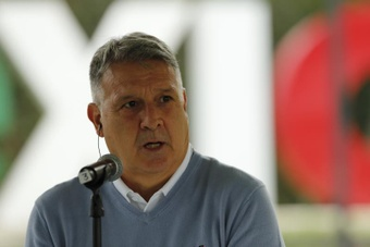 El 'Tata' destacó el papel de Raúl Jimenez, Hirving y Corona en Europa. EFE