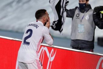 Carvajal está en la recta final de su lesión. EFE/Archivo