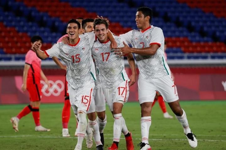 México quedó en tercera posición en los Juegos Olímpicos. EFE