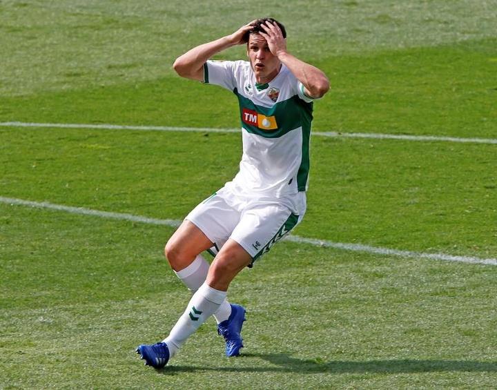Guido Carrillo podría llegar al debut liguero. EFE/Archivo